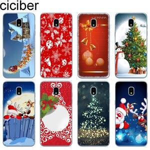 Ciciber чехол для телефона с Рождеством для Samsung Galaxy J6 J5 J2 J3 J4 J1 J7 J8 Pro Core Prime mini 2017 2018 2016 мягкий чехол из ТПУ