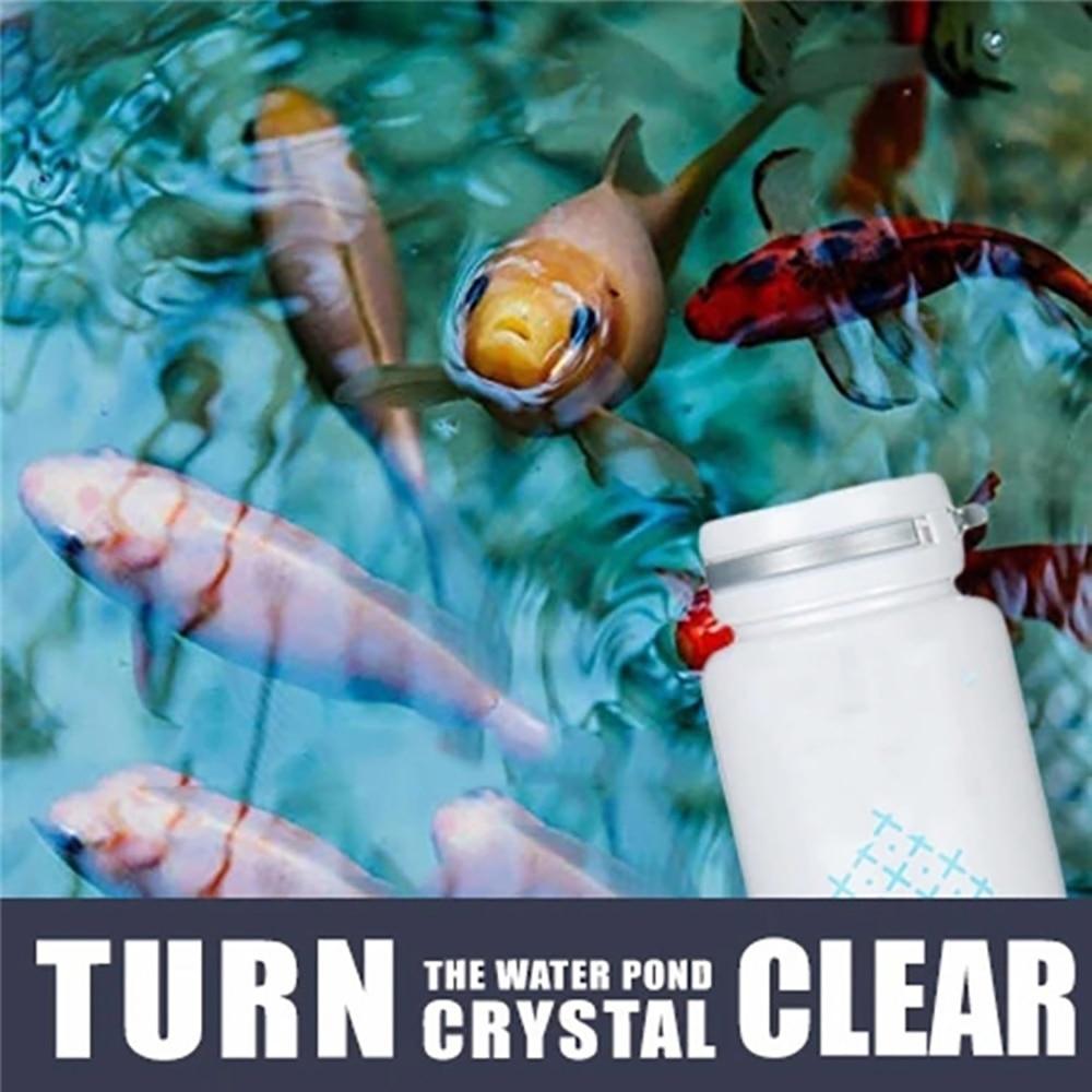 Средство для уничтожения водорослей, практичный безопасный экологически чистый очиститель водорослей для пруда, бассейна