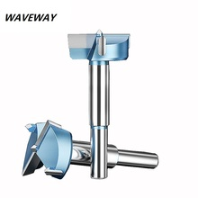 waveway 12mm-65mm Forstner Drill Bits Tips Woodworking Tools Hole Saw Cutter Hinge Boring Round Shank Tungsten Carbide Cutter 5pcs long plates woodworking hole saw tungsten carbide drill bits cutting 12mm 14mm 16mm 18mm 20mm kkq p12 20