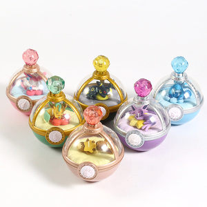 Image 1 - Estuche de Anime Monster Dreaming, figuras Vol.2, Eevee, Leafeon, Sylveon, Glaceon, Umbreon, Mini figuras de juguete, 6 unidades