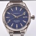 41 мм  Corgeut  мужские часы  механические  Роскошные  модный бренд  стальной ремешок  мужские спортивные часы с голубым циферблатом  Мужские авто...