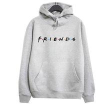 FRIENDS Print Hoodie Hoody Sweatshirt Pullover Jumper Men Hoodies