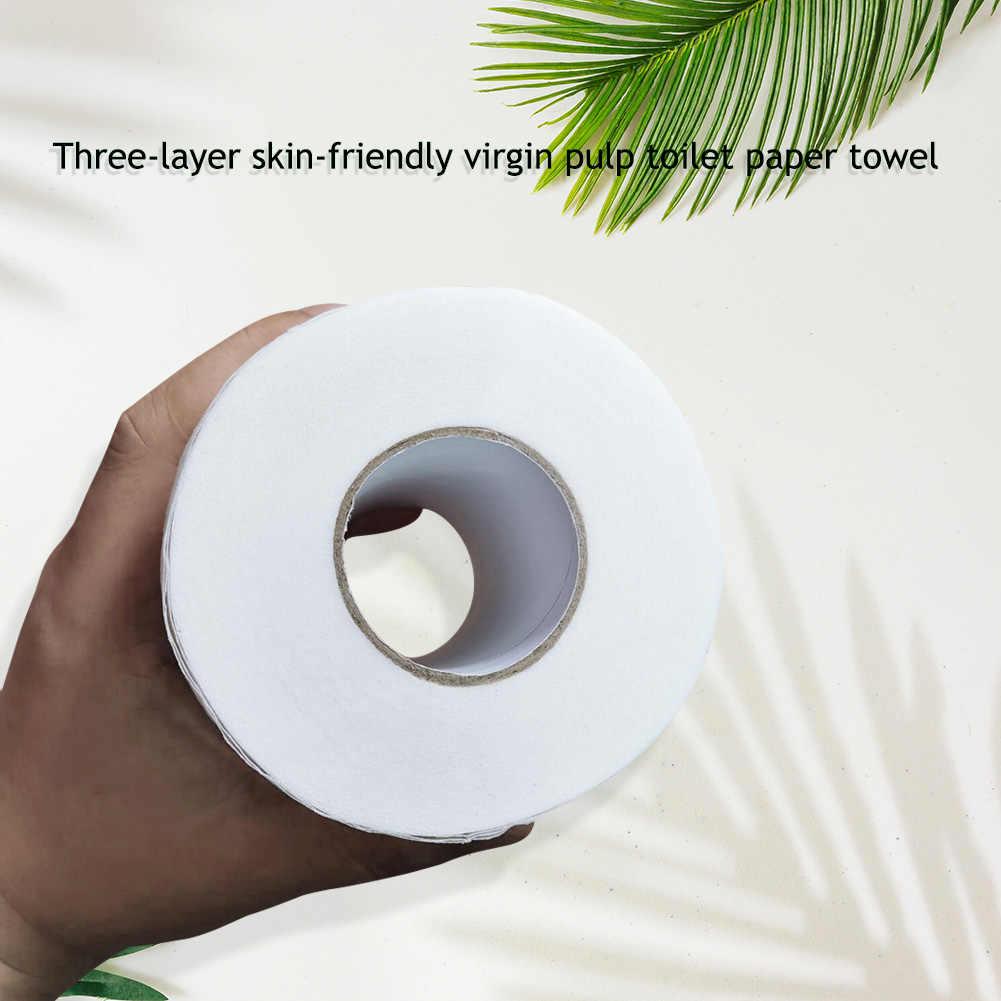 1 rolle Papier Tissue 3 Schichten Raw Holz Zellstoff Serviette Haut Freundliche Home Roll Papier Haushalt Badezimmer Wc Papier Reinigung artikel