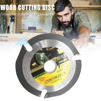 adapter washer circular saw blade reducing rings conversion ring cutting disc aperture change gasket inner hole adapter ring 1PC 125/115MM 3T/6T Wood Carving Disc Circular Saw Blade Woodworking Cutting Disc Saw Blade Grinder Tool Accessories