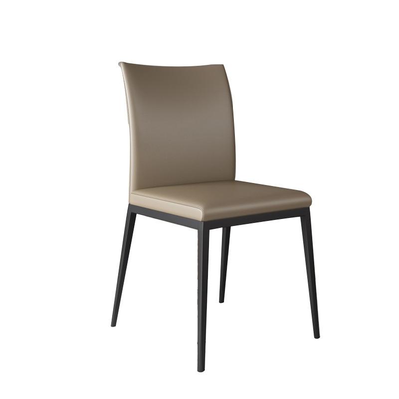 Nordic Dining Chair Home Modern Minimalist Light Luxury  Creative Cafe Stool Restaurant Leisure  Net Red