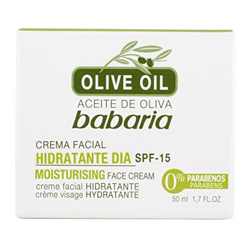 Babaria Olive Oil Moisturizing Face Cream SPF15 50ml