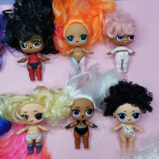 LOL surprise doll series 5 nude dolls can choose children's gift toys 6
