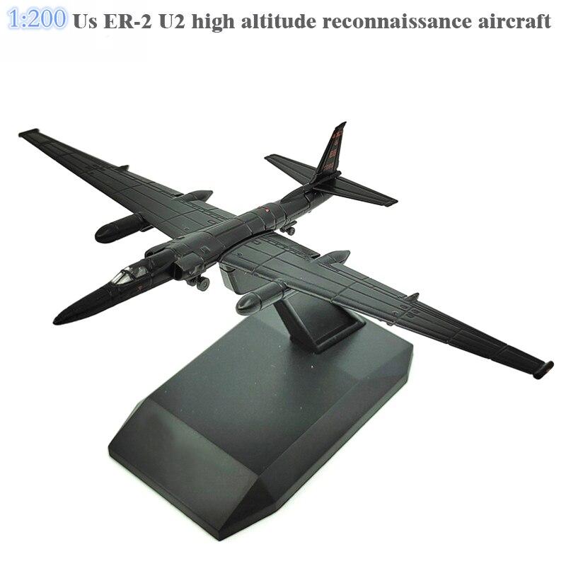 1:200  Us ER-2 U2 High Altitude Reconnaissance Aircraft  Alloy Aircraft Model
