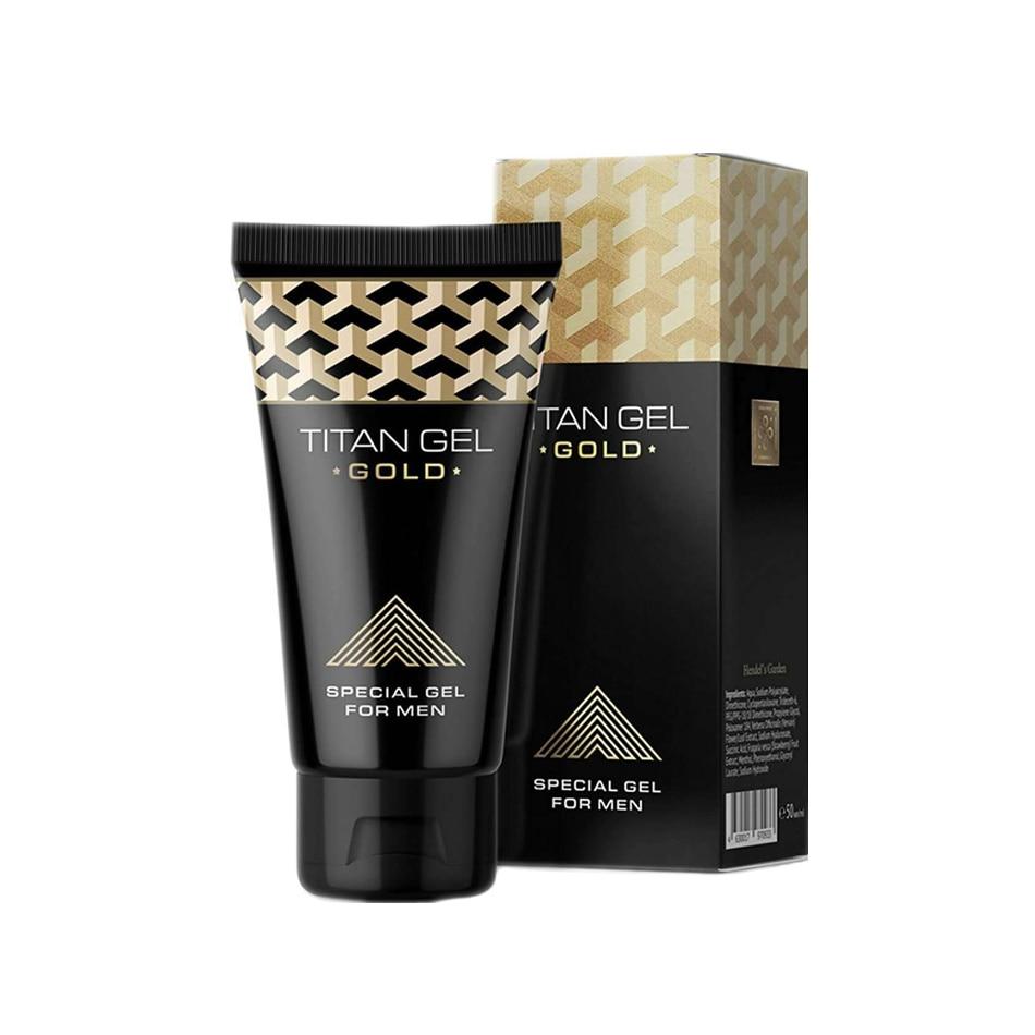 1 Pcs Original Gold Russia Penis Enlargement Cream Retarder Intim Gel Help Male Potency Dick Growth Delay Big Cock Lube 50ml