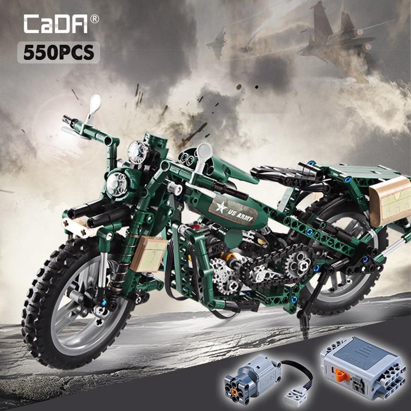 Cada C51022W Electronic Two-Wheeled Motorcycle