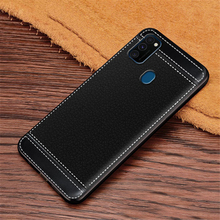 For ZTE Blade 20 Smart 2019 Cases Litchi Texture Soft TPU Case