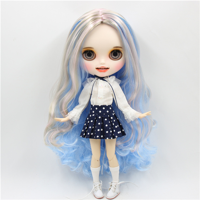 Layla – Premium Custom Blythe Doll with Smiling Face 1