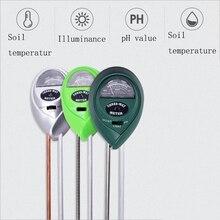 3-in-1 soil detector hygrometer gardening tester pH illuminance ph meter soil instrument garden plant flower wet instrument