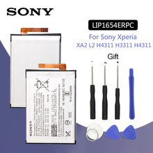 SONY Original LIP1654ERPC Phone Battery 3200mAh For Sony Xperia XA2 L2 H4311 H3311 H4331 Replacement Batteria + Free Tools цена и фото