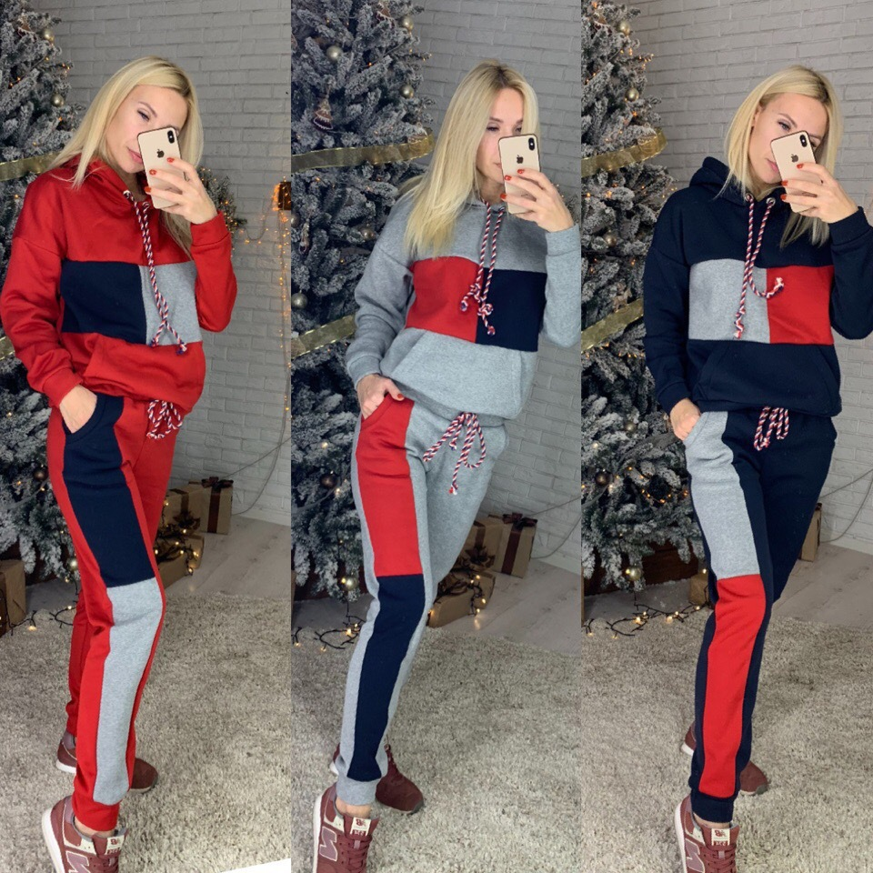 2019 Casual Autumn Winter Suit New Fashion 2Pcs Women Ladies Clothing Sets Tracksuit Hoodies Sweatshirt Pants Sets Outwear