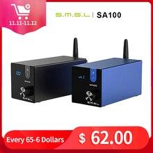 SMSL SA100 Hifi بلوتوث 5.0 مضخم الطاقة TPA3116 مكبرات الصوت عالية الدقة المحمولة الرقمية الصوت أمبير 50 واط + 50 واط مكبر للصوت