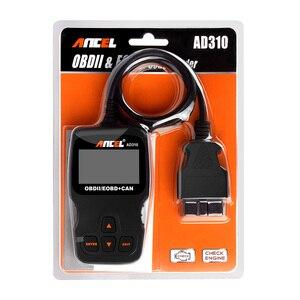 Image 5 - Ancel escáner automotriz Obdii AD310 para coche, herramienta de diagnóstico, lector de código, herramienta de escaneo PK ELM327 v1.5