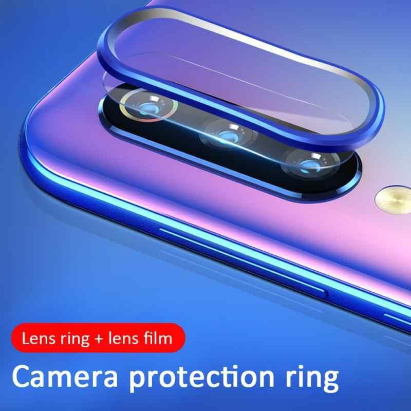 Pour Xiaomi 9 SE Redmi Note 7/Pro protecteur 2 pièces/ensemble lentille verre trempé Film caméra bague de Protection pour accessoires Xiaomi