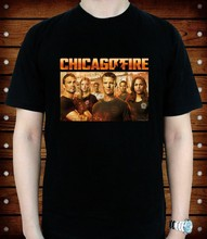 Chicago Fire TV Show T-Shirt tee tutte le dimensioni(China)