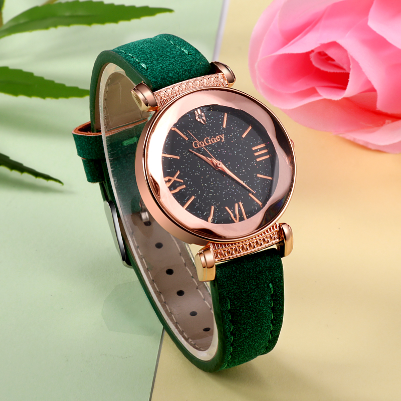 Gogoey Women Watches Fashion Starry Sky Watch Luxury Rose Gold Crystal reloj mujer relogio feminino