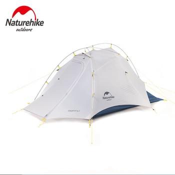 Naturehike Cloud Up Wing 2 Men Tent 15D Nylon Ultralight Portable Windproof Tents 5