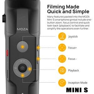 Image 5 - Ручной Стабилизатор MOZA MINI MI MINI S, 3 осевой шарнирный стабилизатор для смартфона iPhone X 8Plus Samsung S9 S8 S7 VS Zhiyun Smooth Q 4 Vimble