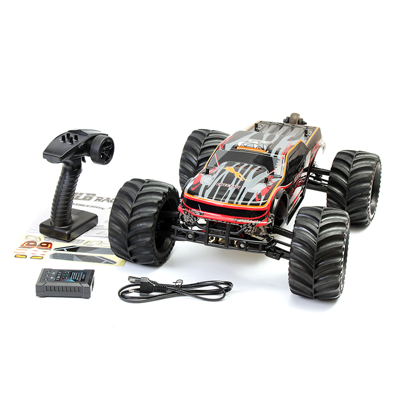 JLB Racing CHEETAH RC Car <font><b>1</b></font>:<font><b>10</b></font> Brushless Motor Remote Control Car 11101 RTR Two version RC Vehicle Crawler Toys for Children image