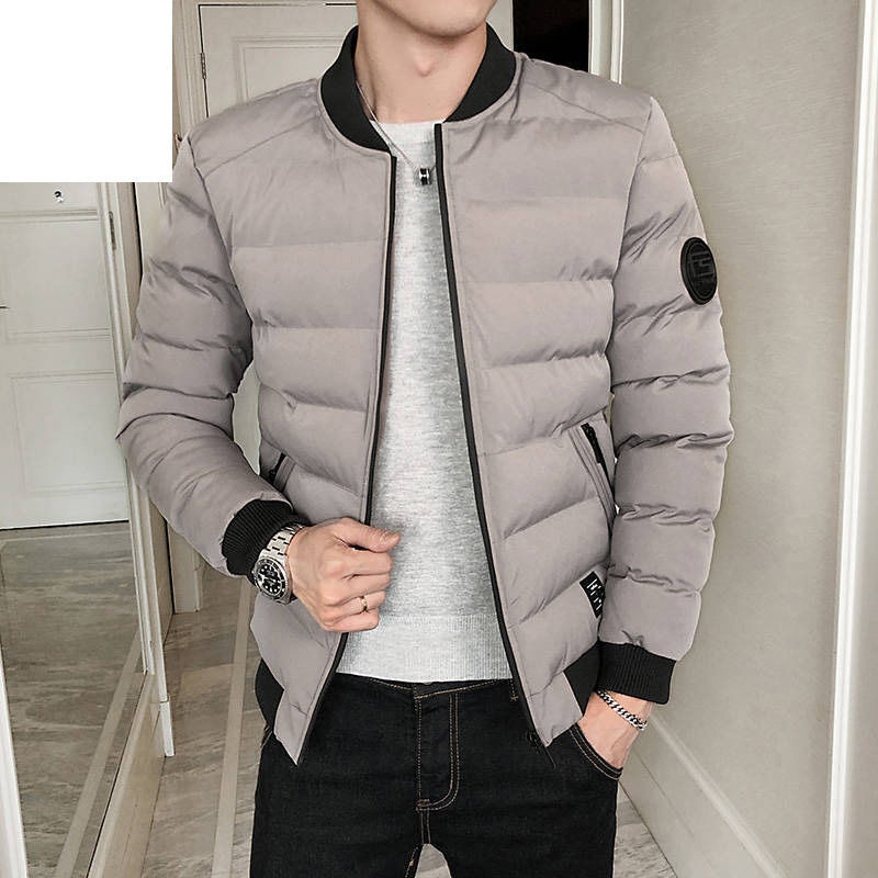 Fashion Men's Down Jackets White Duck Hig Quality Warm Business Winter Clothing Casual Coat Male Parka Overcoat Gray Black Navy