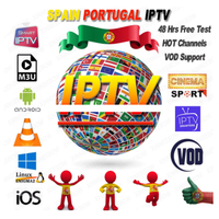 9000 Channels World Global IPTV Europe USA UK Germany Italy Nordic Latin 3/6/12 Month subscription For M3U MaC Android Smart TV