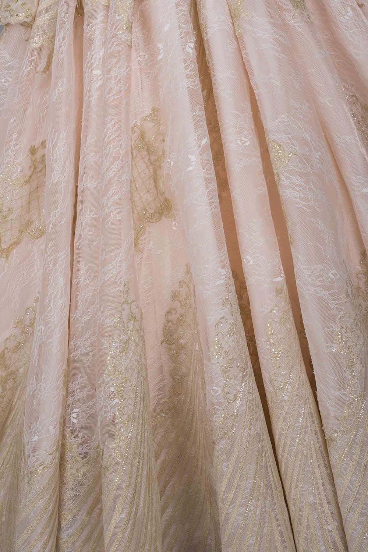 יוקרה ארוך שרוולי תחרה עד בחזרה שמלות כלה תמונות אמיתיות אלגנטי כדור כותנות חרוזים כלה שמלת Vestidos דה Novia