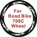 24 шт.  2 колеса в комплекте  700c наклейки на колеса для дорожного велосипеда