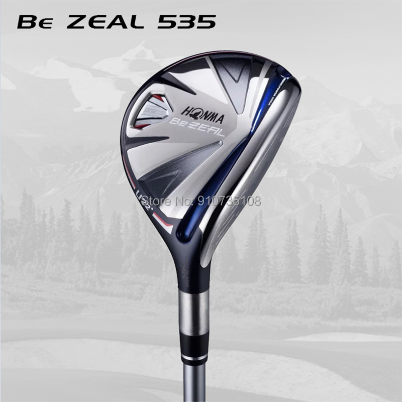 Honma BeZEAL 535 Golf Hybrids honma hybrids Honma Golf Clubs 19 22 25 Degree R/SR/S Graphite Shaft With Head Cover free shipping