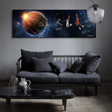 Basketball Star Transforms Basketball Dream Art Posters and Prints Canvas Paintings Wall Art Pictures for Living Room Decor