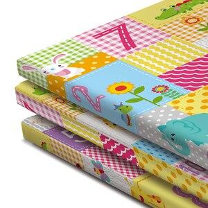 Image 5 - 折りたたみベビープレイマット肥厚 tapete infantil ホームベビールーム装飾子供ゲームプレイパズルマットおもちゃ xpe 厚さ