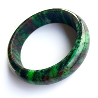 Dropshipping JoursNeige Red and Green treasure Natural Stone Bangles Fashion Bangle for Women Mothers' Day Gift Jewelry