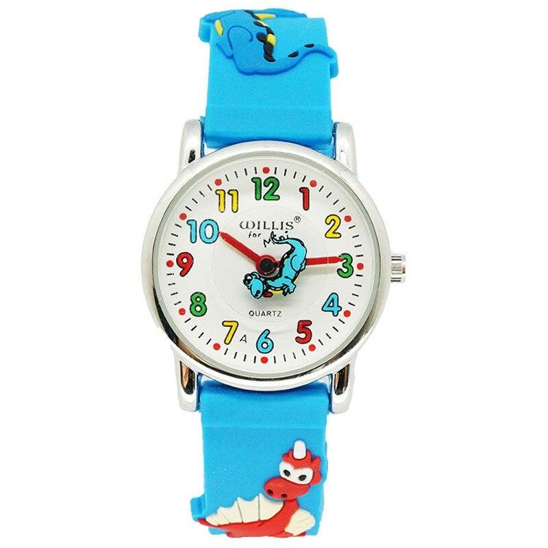 New Kids Watches Children Silicone Dinosaur Wristwatch Brand Quartz Wrist Watch Baby For Girls Boys Fashion Casual Reloj
