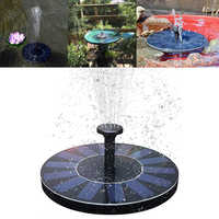 Solar Fountain Watering kit Power Solar Pump Pool Pond Submersible Waterfall Floating Solar Panel Water Fountain For Garden 3
