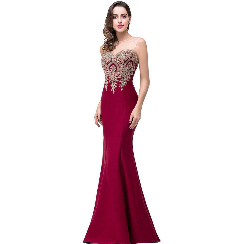 2020 Special Offer Scoop Bridesmaid New Korean Tail A Toast To The Bride Take Long Cultivate Morality Show Thin Dinner Suit Of