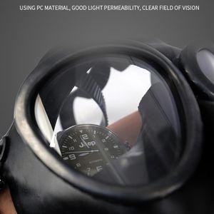 Image 5 - Volledige Facemask Respirator Airsoft Gas Masker Bril Cs Transpiratie Stof Gezichtsmasker Voor Chemie Verf E65A