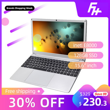 """Funhouse 15.6-Cal ultra-cienki Laptop biznesowy przenośny Internet personalizacja Laptop USB3.0/USB2.0/128GB SSD 15.6 """"169 Notebook"""