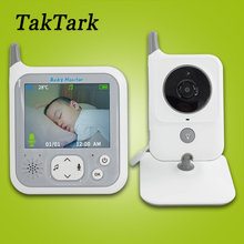 TakTark 3.2 inch Wireless Video Color Baby Monitor Night Light portable Baby Nanny Security Camera IR LED Night Vision intercom