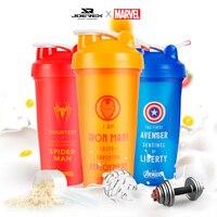 MARVEL BPA Free Shaker Bottle Protein Powder Mixing Bottle Sports Nutrition Protein Shaker Fitness Water Bottle|Bicycle Water Bottle| |  -