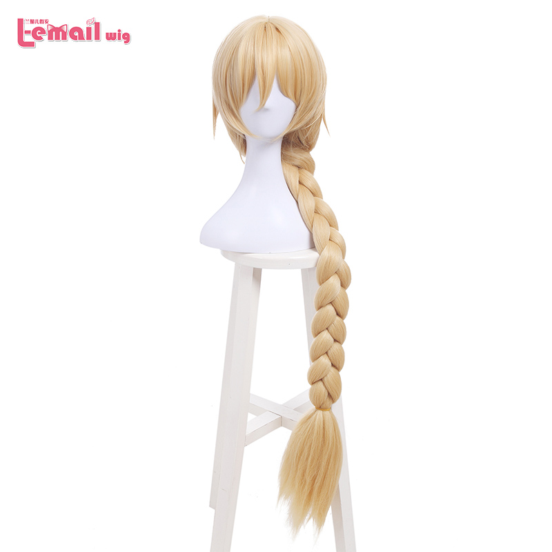 L-email wig New FGO Game Character Cosplay Wigs 10 Color Heat Resistant Synthetic Hair Perucas Men Women Cosplay Wig