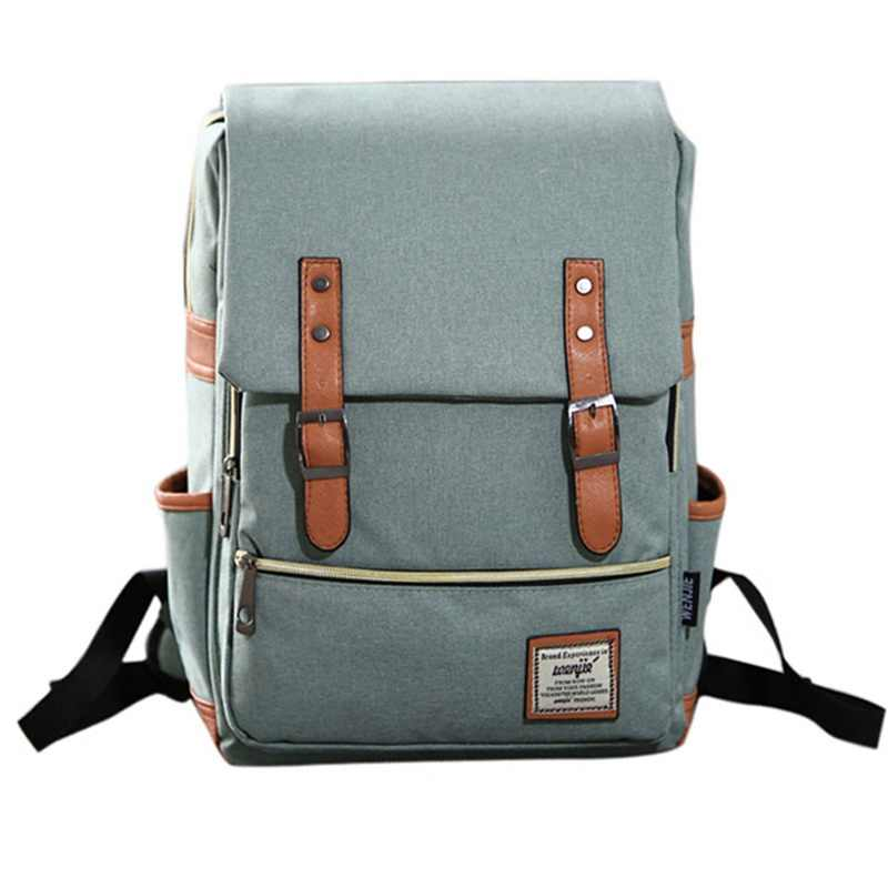 Fashion  Laptop Backpack Women  Bags Men  Travel vacancy Backpacks Retro Casual Bag School Bags For Teenager