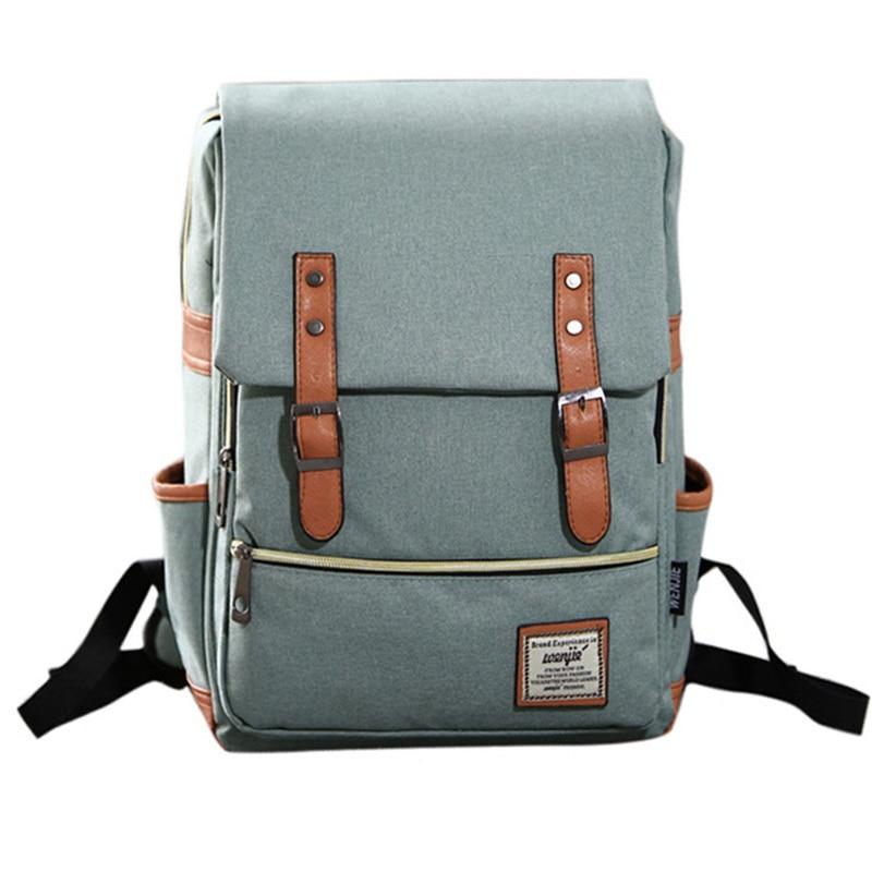 Fashion  Laptop Backpack Women  Bags Men  Travel Vacancy Backpacks Retro Casual Bag School Bags For Teenager