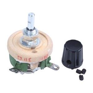 Одноповоротный резистор 25 Вт 30 Ом Регулируемый конический Керамический дисковый реstat