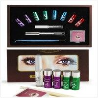 8 D Silicone Pads Eyelash Curling Eye lash Permanent Eyelash Wave Lotion Curling Perm Curler Kit Eye Lashes Lift Liquid Set