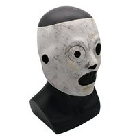 Halloween Horror Mask Adult Slipknot Mask Masquerade Dress Up Costume Rave Party Cosplay Props