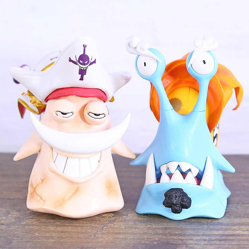 אחד חתיכה חילזון טלפון Jinbe/אדוארד ניוגייט PVC איור מושי דן דן דגם צעצוע