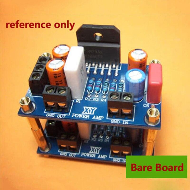 Горячая Распродажа DC + 20 28 в 68 Вт LM3886 TF усилитель мощности платы Hi Fi PCB параллельная голая плата|Усилители мощности| | АлиЭкспресс